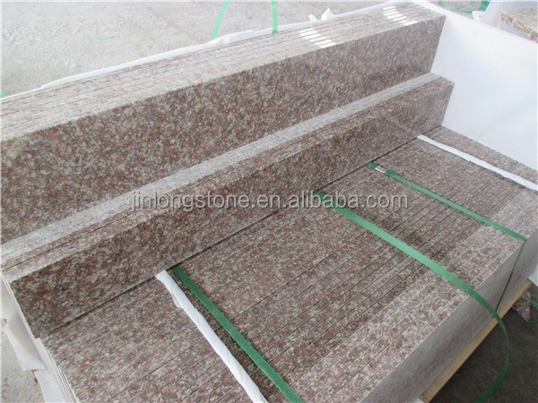 Imperial pink g687 granite, low price china g687 g664 granite, g687 stairs and risers