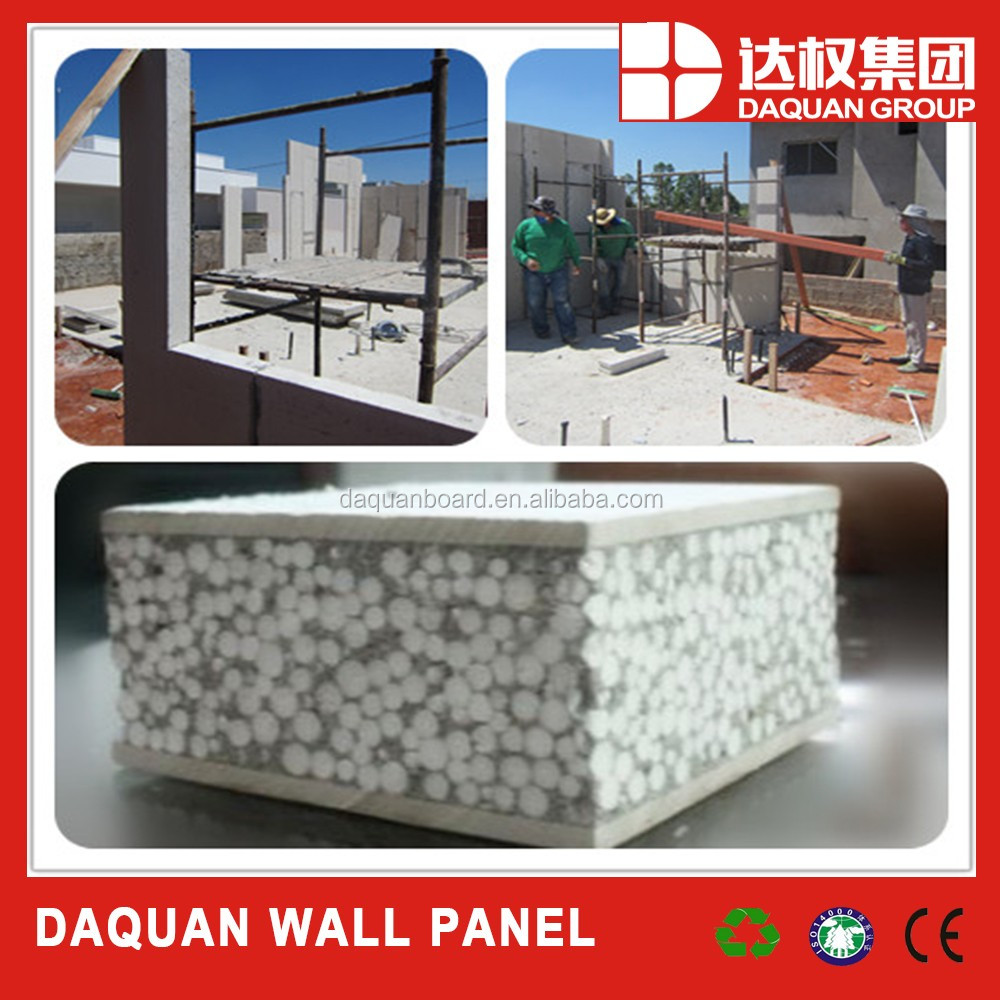 2017 hot selling sandwich panel/siding exterior wall