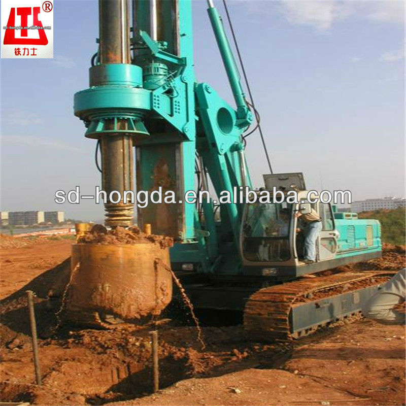 shandong hongda drilling rigs bored piling driving machinery