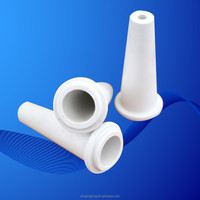 cone shaped alumina wear resistant ceramic parts/cones/tube
