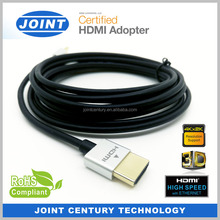 15ft 5M Extreme Slim Active HDMI cable with Redmere Chipset Support 3D 4K Ethernet Audio Return Channel