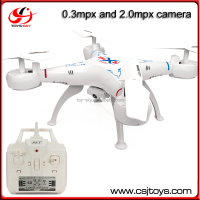 Good price quadcopter toy 2.4G quad rotor rc helicopter drone with Camera and led light