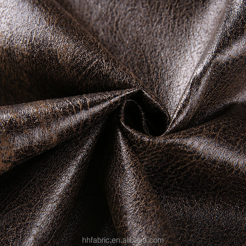 good quality polyester 75D bronzing suede fabric for upholstery/sofa/chair cover/bag