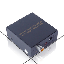 toslink to optical adapter SPDIF/Toslink to Coaxial Support 5.1 DTS PCM Hdmi Converter 5.1