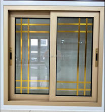 Guangdong Factory Price Double Tempered Glass Aluminum Sliding Window