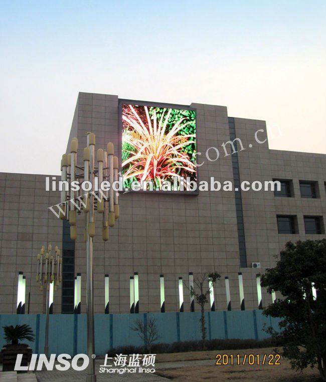 FCC CE ROHS P10 full color LED board/display/screen