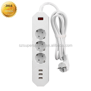 Power surge protector socket multi standard socket power switch socket for home