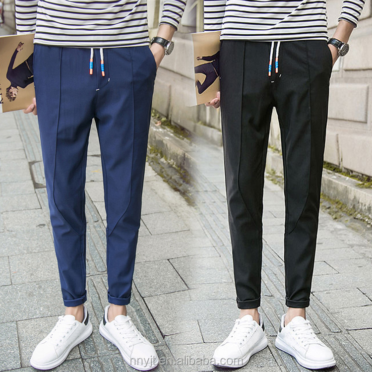 men casual long pants