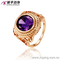 12487-xuping wholesale fashion jewelry young boys finger rings designs men ring model