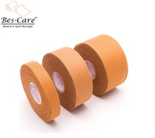2017 TOP Selling Cotton Injury Sports Strapping Tape Rayon Silk Zinc Oxide Rigid Strapping Tape
