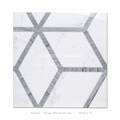 High End Factory Price Waterjet Marble Mosaic Tile For Bathroom Wall
