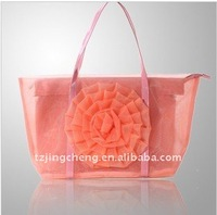 2014 Beach bag Nylon tote for ladies