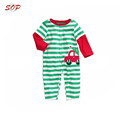 Long sleeve striped baby romper cotton kids climbing clothes baby romper knitted
