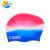 Adult ladies spell color hair care earmuffs silicone swimming cap