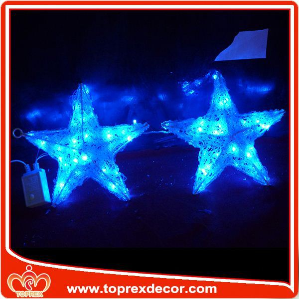 Decorative ceiling falling star led christmas lights