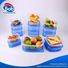 Disposable Eco-friendly material Takeaway Plastic Food Container