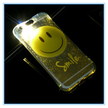fashion light up mobile phone case for iphone6 plus