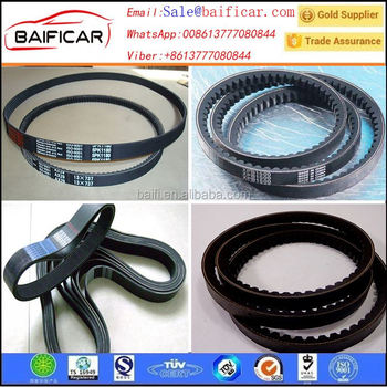 World standards car use fan belt pk belt OEM:13028-2P125