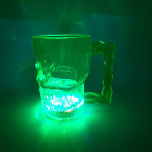 Light up Mini Plastic Skull Cups