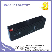 12v2.3ah sealed lead acid battery for electronic fences, 12v rechargeable vrla batteries