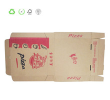 Jiangsu Factory Custom Corrugated Food Packaging Box for Pizza