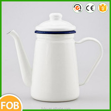 Enamel kettle /Enamel jug/enamel coffee pot with the handle