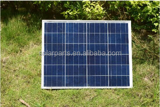 50wp Polycrystalline Solar Module by Poly solar cell factory cheap selling 12V solar panel for RV/Marine/Boat use