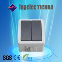 china manufacture push button power on/off switch