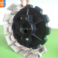 Nylon plastic split chain sprocket gears, chain sprocket for 880 chain series