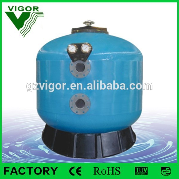 2015 Top selling Swimming Equipment Factory Best Industrial Commercial Use Swimming Pool Sand Filter For Water Treatment Plant