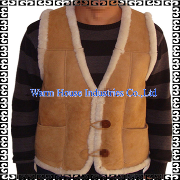 Luxury Fashion OEM Service Custom Shearling Sheepskin Fur Coat