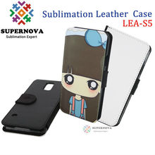Sublimation Leather Phone Cases Blanks for Samsung Galaxy S5