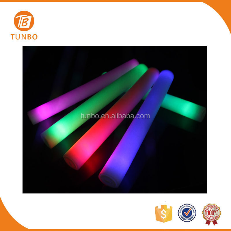 Wholesale Concert Supplies Foam Sponge Cheering Stick China LED Light Stick