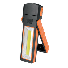 high lumen led flashlight with side COB light with magnetic can stick metal surface