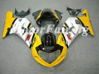 race fairing/body kits for motorcycle suzuki gsxr600 750 2001-2003 Yellow Sliver Black
