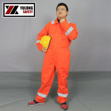 welding worker cotton aramid coverall for flight pilot with EN standard