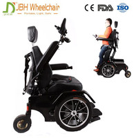 Heavy Duty handicapped electric power standing up wheelchair
