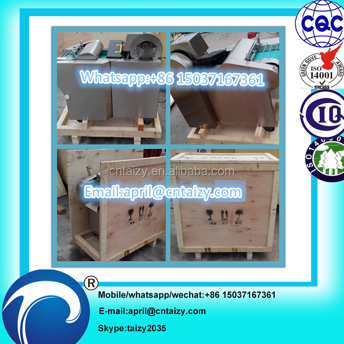 Fresh beef/goose/duck meat cube cutting machine