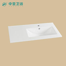Chaozhou suppliers ceramic cabinet basin porcelain bowl bathroom vanity sets