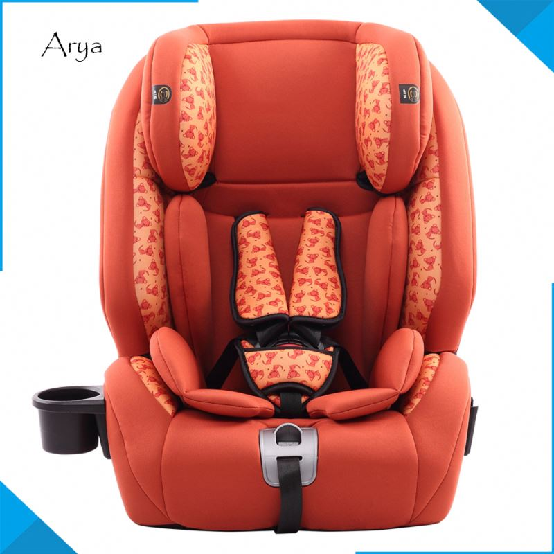 Safety booster Best selling Thicken Multifunction Adjustable Car britax conversion van isofix booster baby seat Cotton For kids