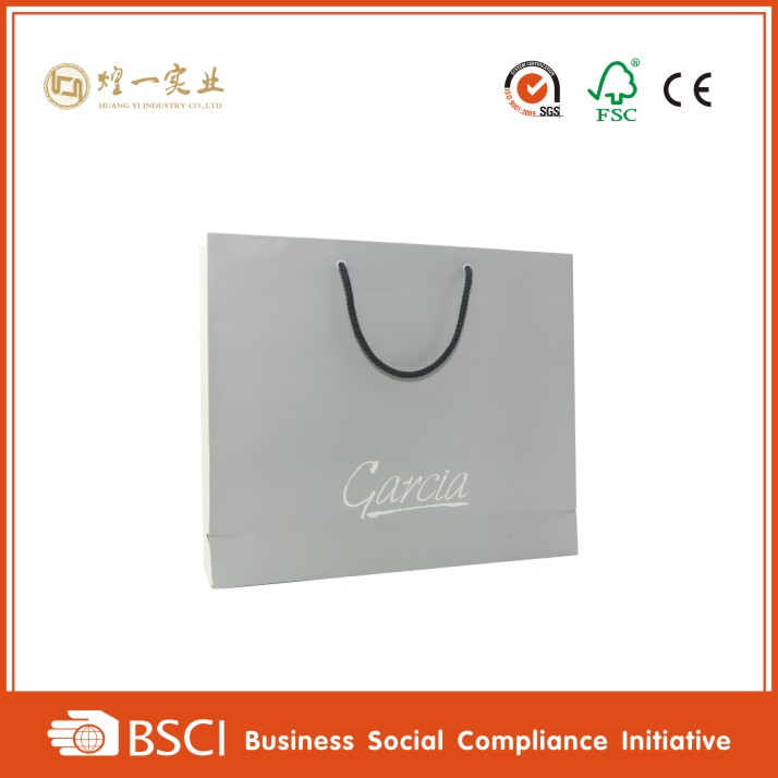 t shirt packaging shopping bag / clothing paper bag