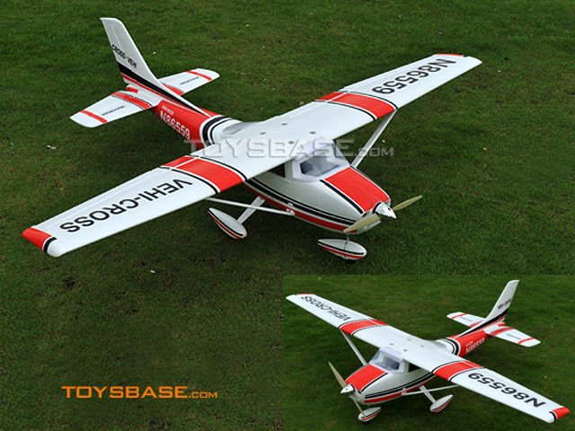 6 Channel RC Cessna Plane, outdoor hobby brushless