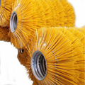 PP bristle round road sweeper cleaning brush