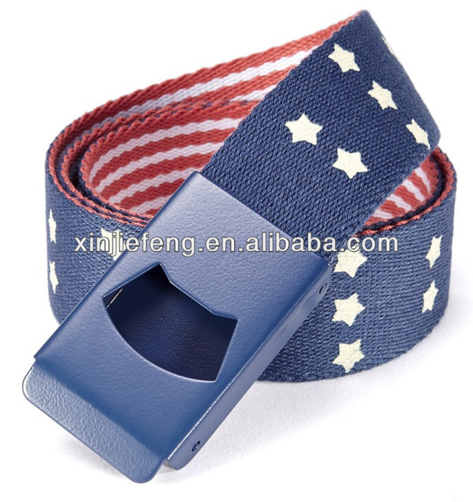 Fashion Fabric Webbing Canvas Belts