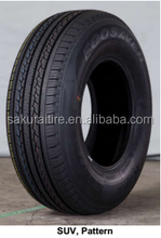 car tyre / pcr tyre/ SUV tyre 225/60r16 275/55ZR20 185/65R14 from China
