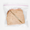 Low density polyethylene ziplock bags plastic sandwich bag with color zip