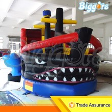 Inflatable Pirate Ship Water Slide Bouncer Castle For Sale