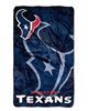 BSCI SEDEX AVON factory china suppliers wholesale NFL allover spirit print micro fleece throw blanket