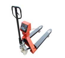3 ton hydraulic hand pallet truck weighing scale, portable forklift scale