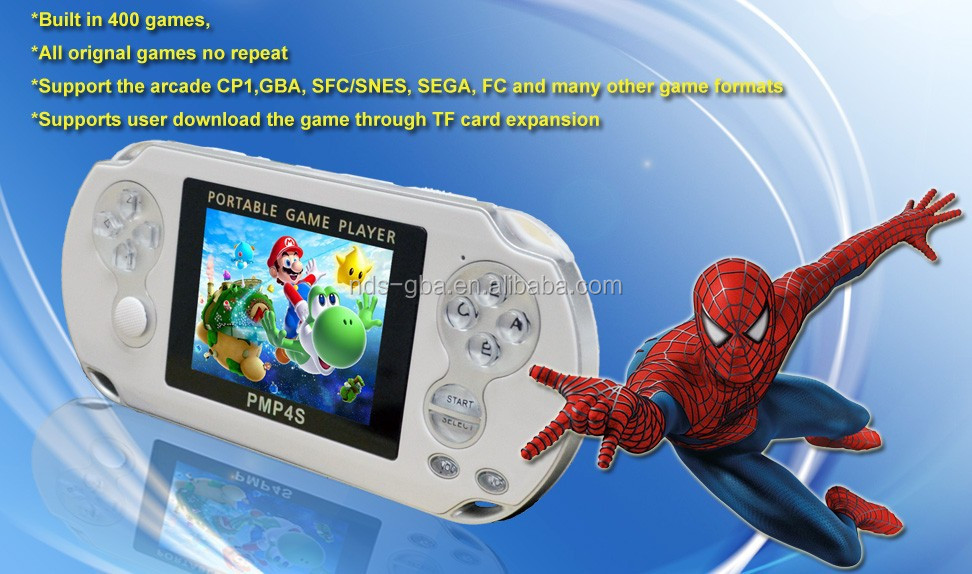 game console all in one support Arcade handheld game console PMP-4S